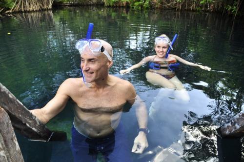 Riviera-Maya-Hacienda Tres Rios Actividades Snorkel